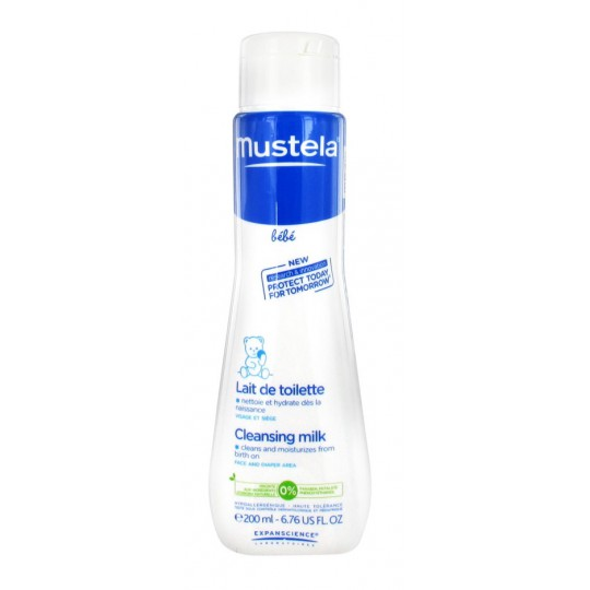 MUSTELA baby Cleansing Milk 200ml