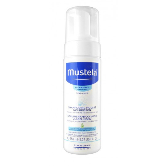 Mustela Infant Foaming Shampoo 150ml
