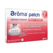 Arôma Patch Grand Format Multi-Zones 3 Patchs