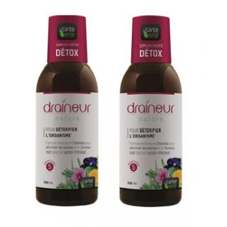 Santé Verte Draineur Nature Duo 500ml x 2