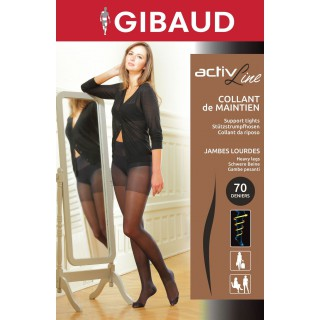 Gibaud Activline Collant Noir