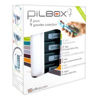 Pilbox 7 pilulier Semainier dynamique