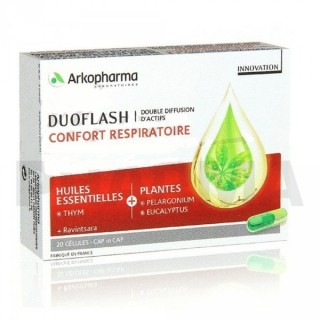 Arkopharma duoflash Respiratoire 20 gélules