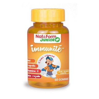 Nat & Form Kid'Ours immunité 60 oursons