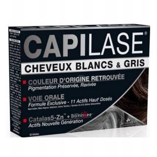 3 Chênes Capilase Cheveux Blancs Gris 30 Gélules