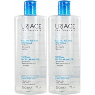 Uriage Water makeup Remover normal to dry skin 500ml