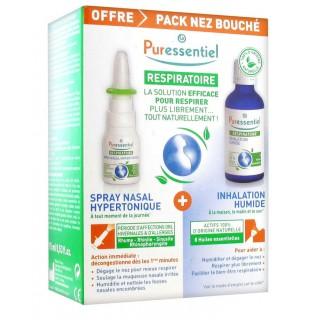 Puressentiel Pack Spray nasal 15ml + Inhalation humide 50ml