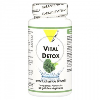 Vitall+ Vital Détox 60 gélules végétales