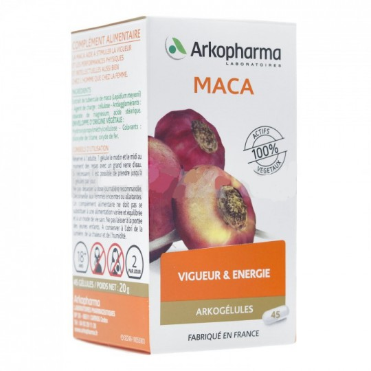 Arkogélules Maca box of 45 caps