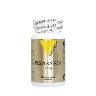 Vitall + Resveratrol 100mg 30 comprimes