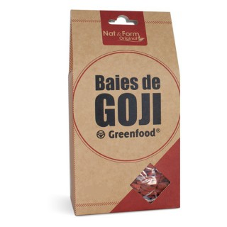 Nat & Form Goji Berries Greenfood 200g