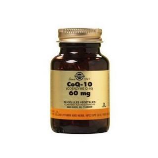 Solgar CoQ 10 60 mg 30 Gélules Végétales