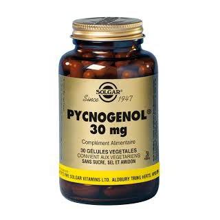 Solgar pycnogénol 30 caps