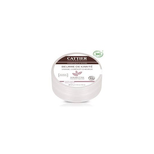 Cattier Creme Beurre Karité 100G