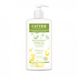 Cattier Gel Moussant Familial 1l