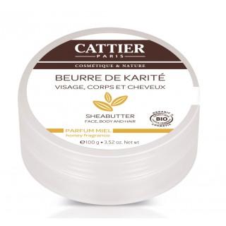 Cattier Beurre de Karité Miel 100gr