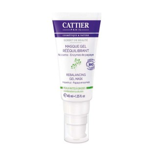 Cattier Masque Gel Rééquilibrant 40 ml