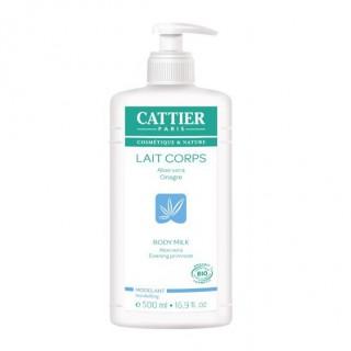 Cattier Lait Corps Modelant Aleo vera 500 ml