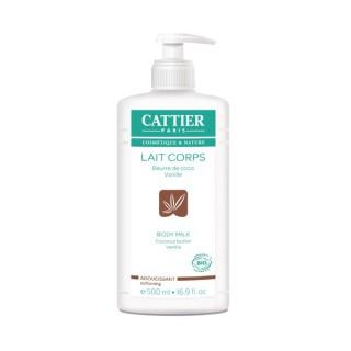 Cattier Lait Corps Adoucissant Coco vanille 500 ml