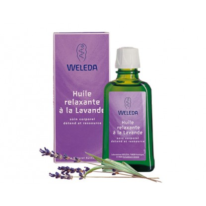 Relaxing Lavender Oil Weleda 100ml