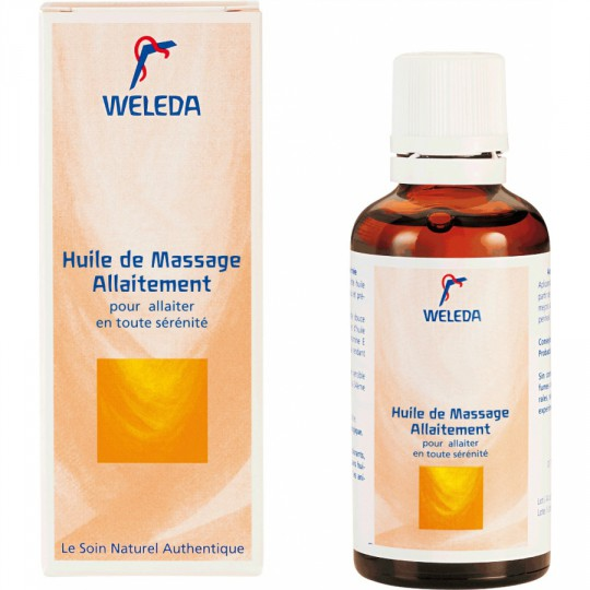 Weldea Breastfeeding Massage Oil 50ml
