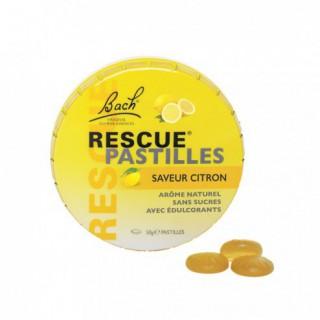Fleur de Bach Rescue citron pastilles 50 g