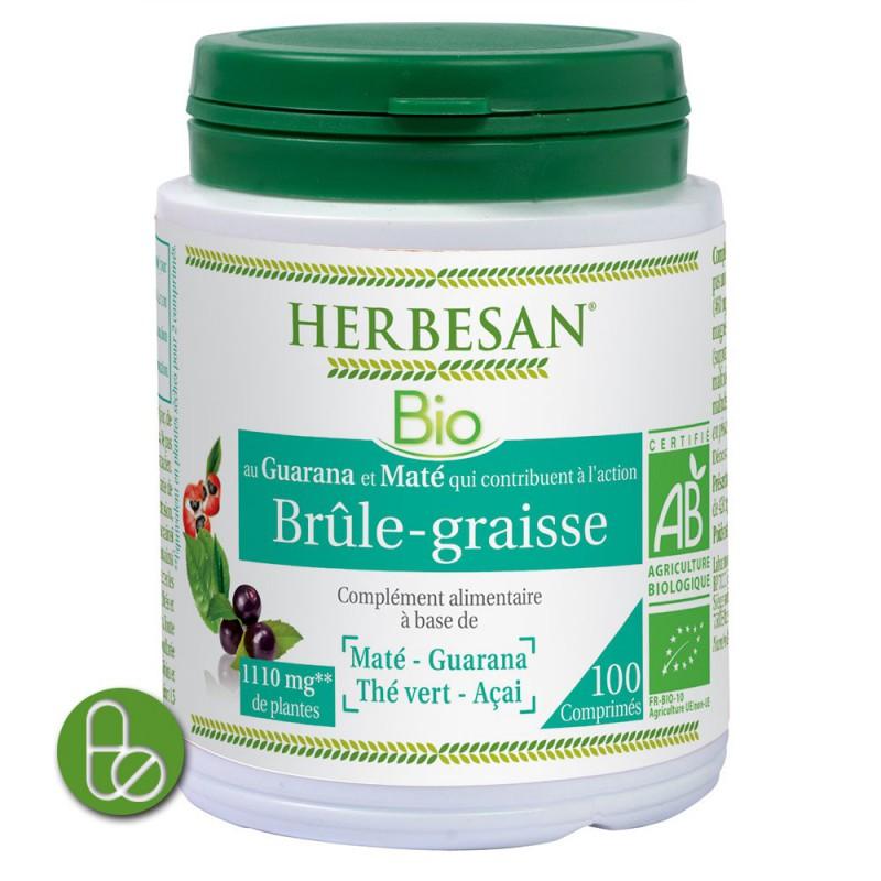 Herbesan br le graisse bio 100 comprimes - Nettoyer graisse brulee four ...