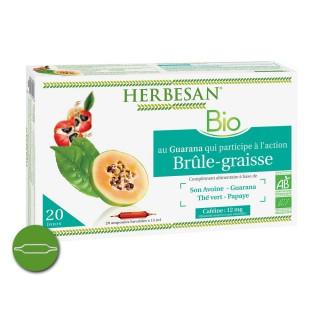 Herbesan Brule graisse Bio 20 ampoules