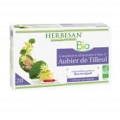 Herbesan Aubier de tilleul Bio 20 ampoules