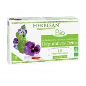 Herbesan Depurative detox 20 ampoules