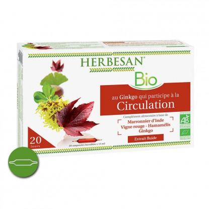Herbesan Circulation Bio 20 ampoules