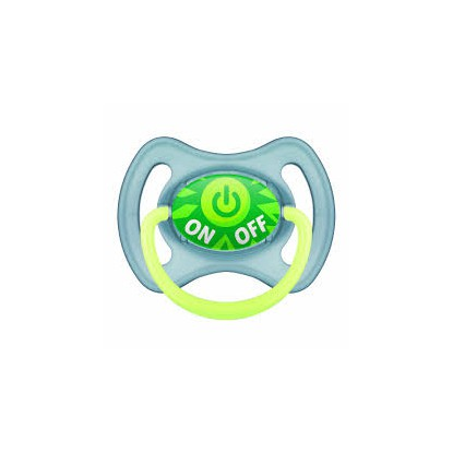 mam Silicone Anatomical Pacifier 6M+