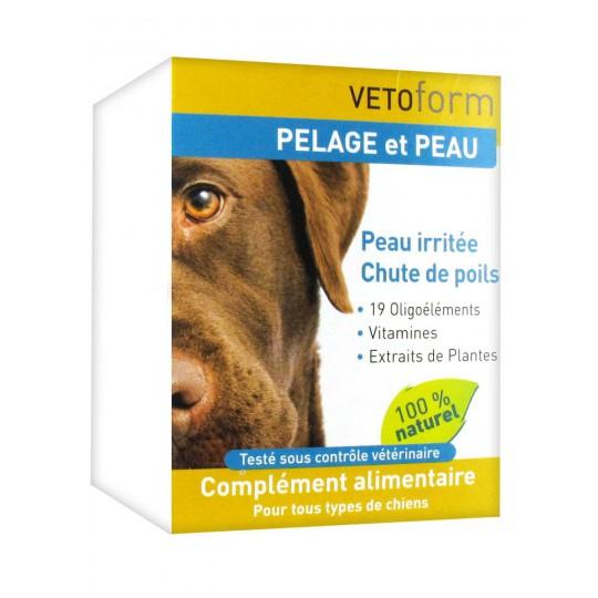 Vetoform Complément Pelage et Peau Chiens 100 g