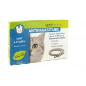 Vetoform Collier Antiparasitaire Chat
