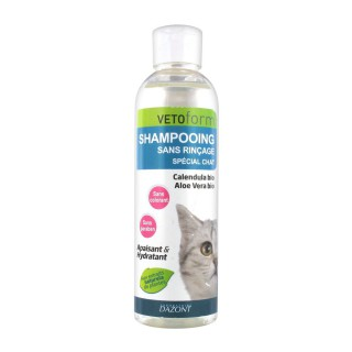 Vetoform Shampooing Sans Rinçage Chat 200 ml
