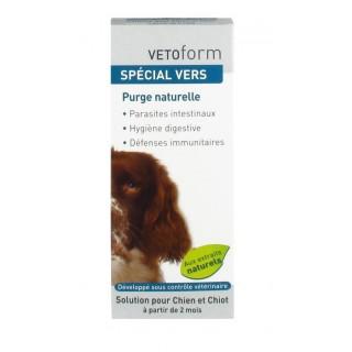 Vetoform Spécial Vers Solution Chien 50 ml
