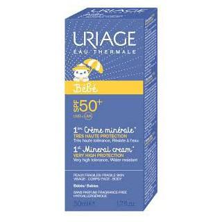 Uriage Bébé crème minérale SPF 50+ 50ml