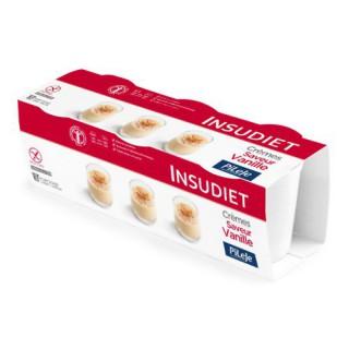 Insudiet Crème Vanille Sans Gluten 3 x 150gr