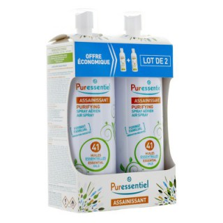 Puressentiel Spray Assainissant 41 Huiles LOT 2X 500ml