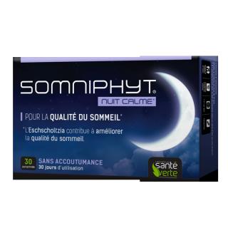 Somniphyt nuit calme 30 comprimés