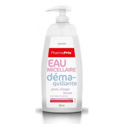 Pharmaprix Eau Micellaire Démaquillante 500ml