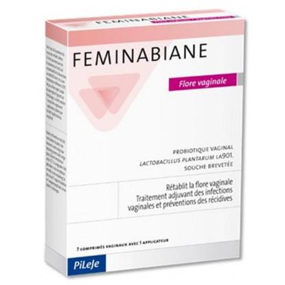 Feminabiane Flore Vaginale 7 comprimés vaginaux + 1 applicateur