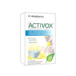 Activox Comprimés pour inhalation x20 comprimés