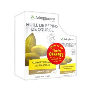 Arkogellule Pumpkin seed oil 180+60 free