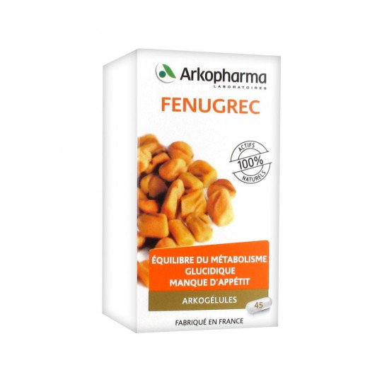 Arkogélules Fenugreek 45 caps