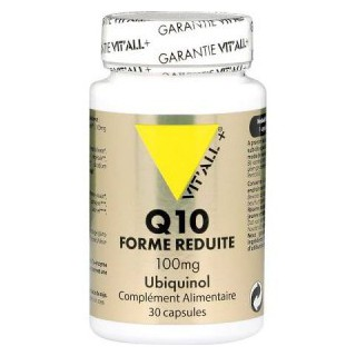 Vitall+ Ubiquinol Q10 réduit 100 Mg 30 capsules