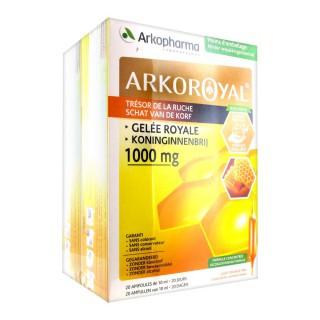 Arkopharma Arko Royal Gelée Royale 1000 mg 2 x 20 Ampoules