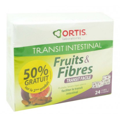 Fruits et Fibers 24 cubes + 12 free