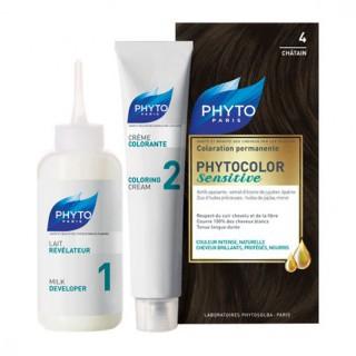 Phytocolor Sensitive - 4 châtain