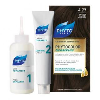 Phytocolor Sensitive - 4.77 châtain marron profond